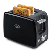 Oster® 2-Slice Retractable Cord Toaster, Black