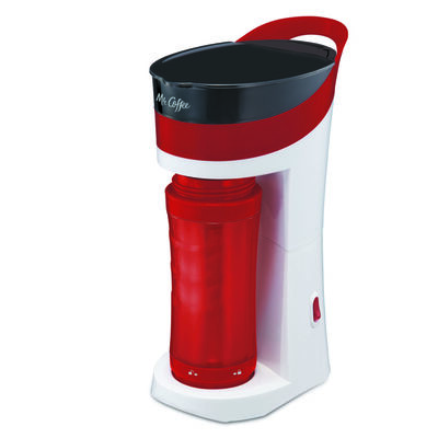 Mr. Coffee® Pour! Brew! Go! Personal Coffee Maker - Red