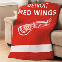 Sunbeam® NHL® Fleece Heated Throw, Detroit Redwings®