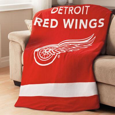Sunbeam® NHL® Fleece Heated Throw, Detroit Redwings®