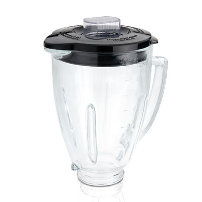 Oster® Blender 6-Cup Glass Jar - Black Lid