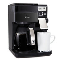 Mr. Coffee® Perfect Choice Coffee Maker with Glass Carafe, Black, BVMC-PCX85