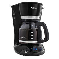 Mr. Coffee® Simple Brew 12-Cup Programmable Coffee Maker Black, DWX23-NP