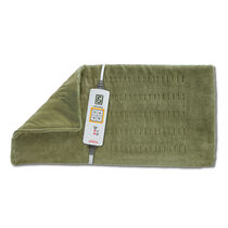 Sunbeam® King Size XpressHeat™ Heating Pad, Sage