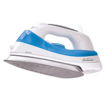 Sunbeam® Simple Press™ Iron, White & Blue