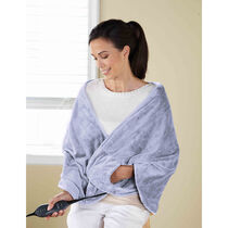 Sunbeam® Royalmink™ Chill-Away™ Heated Wrap, Lavender