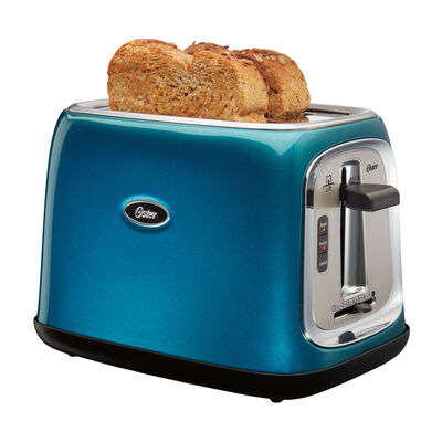 Oster® 2-Slice Toaster, Metallic Turquoise