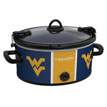 West Virginia Mountaineers Collegiate Crock-Pot® Cook & Carry™ Slow Cooker