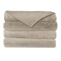 Sunbeam® Microplush Heated Throw, Mushroom
