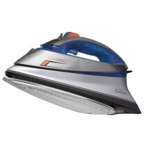 Sunbeam® TURBO Steam Master® Professional Iron, Blue & Silver