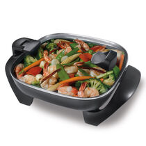 """Oster® 12"""" Square Hinged Lid Skillet"""