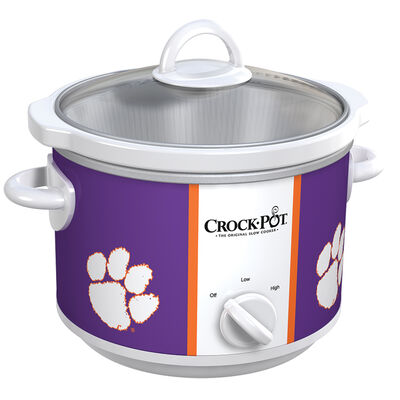 Clemson Tigers Collegiate Crock-Pot® Slow Cooker
