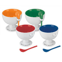 White Mountain® Ice Cream Bowls & Spoons