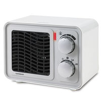 Sunbeam® Retro Heater, White