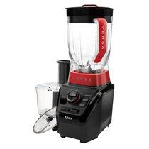 Oster® Versa™ 1,100 Watt Multi Speed Performance Blender and Food Processor Bundle, Black