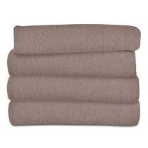 Sunbeam® Fleece Heated Throw, Mushroom
