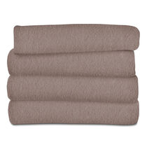 Sunbeam® Fleece Heated Throw, Mushroom