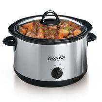 Crock-Pot® 4.5 Quart Manual Slow Cooker, Silver