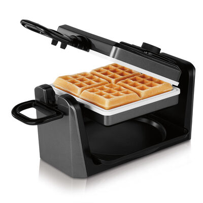 Oster® DuraCeramic™ Square Belgium Flip Waffle Maker