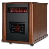 Holmes® 1500 Watt Infrared Console Heater with Wood Housing