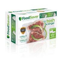 "FoodSaver® 8"" & 11"" Vacuum Seal Rolls, Multi Pack"