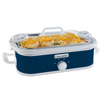 Crock-Pot® 3.5-Quart Casserole Crock Slow Cooker, Midnight Blue