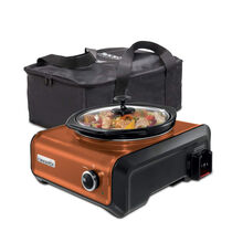 Crock-Pot® Hook Up® Connectable Entertaining System with Travel Bag, 2-Qt