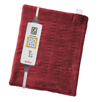 Sunbeam® XpressHeat™ Heating Pad, Garnet Red