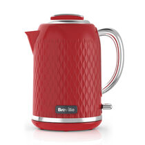 Curve 1.7L Jug Kettle, Red and Chrome