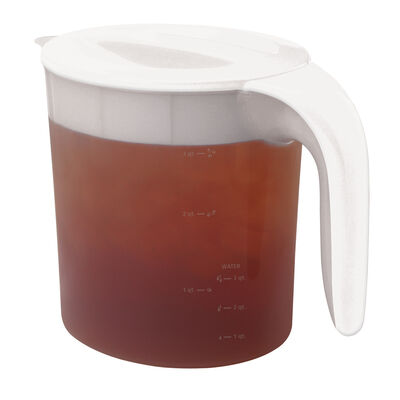 Iced Tea Maker Replacement Pitcher, 3-Qt., White (TM70)
