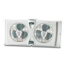 Holmes®  Twin Window Fan with Manual Thermostat