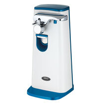 Oster® Accentuate Extra Tall Can Opener, Blue