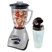 Oster® Versatile 12-Speed Blender with Blend-N-Go® Cup - Silver