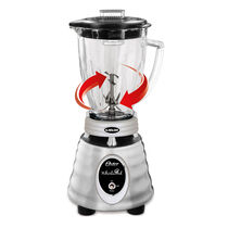Oster® Heritage Blend™ 1000 Whirlwind™ Blender - Brushed Stainless - Glass Jar