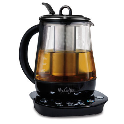 Coffee Maker Vs Kettle : Mr. Coffee Hot Tea Maker and Kettle - Black