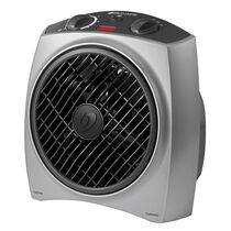 Bionaire®  Heat Circulator with Rotating Grill-Silver