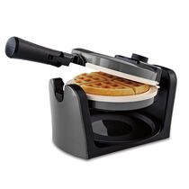Oster® DuraCeramic™ Flip Waffle Maker - Charcoal