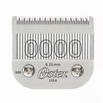 Oster® Detachable Blade Size 0000 Fits Classic 76, Octane, Model One, Model 10, Outlaw Clippers