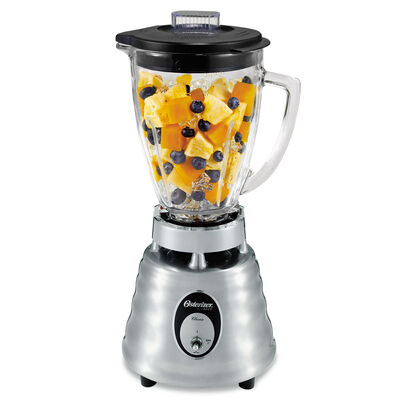 Oster® Heritage Blend™ 400 Blender - Brushed Die Cast - Glass Jar