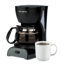 Mr. Coffee® Simple Brew 4-Cup Switch Coffee Maker Black