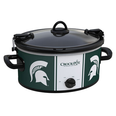Michigan State Spartans Collegiate Crock-Pot® Cook & Carry™ Slow Cooker
