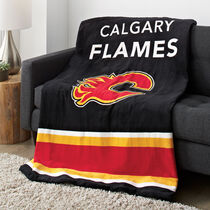 Sunbeam® NHL® Microplush Heated Throw, Calgary Flames®
