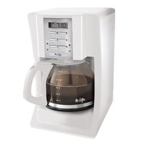 Mr. Coffee® Advanced Brew 12-Cup Programmable Coffee Maker White, SJX20