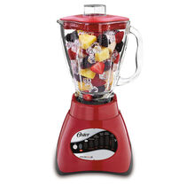Oster® Precise Blend™ 200 Blender - Red - Glass Jar - NEW UPDATED LOOK!