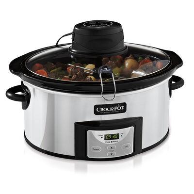 Crock-Pot® 6-Quart Digital Slow Cooker with iStir™ Stirring System
