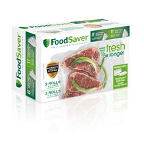 "FoodSaver® 8"" & 11"" Heat Seal Rolls, Multi Pack"