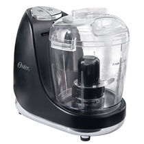 Oster® 3-Cup Mini Food Chopper with Whisk, Black