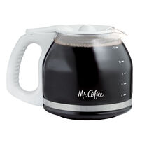 Mr. Coffee® 12-Cup Glass Carafe, White