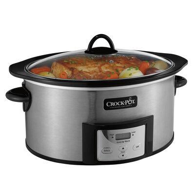 NEW!  Crock-Pot® 6-Quart Slow Cooker with Stovetop-Safe Cooking Pot