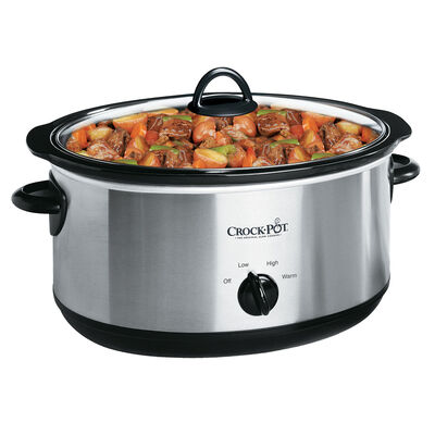Crock-Pot® Manual Slow Cooker, Silver